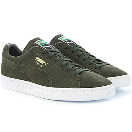 Puma Baskets Suede Classic Plus 356568 65 Forest Night