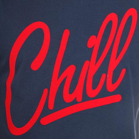 Luxury Lovers - Tee Shirt Chill Bleu Marine