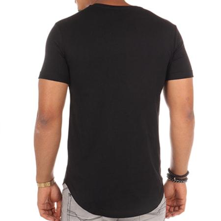 Luxury Lovers - Tee Shirt Oversize Stripes Noir