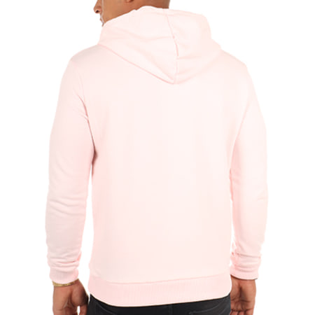 Luxury Lovers - Sweat Capuche Poche Circle Chill Speckle Rose