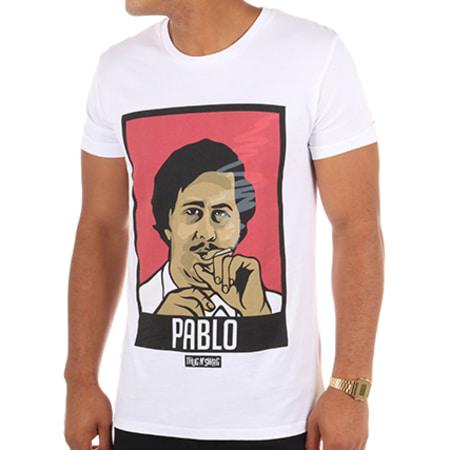 Thug N Swag - Tee Shirt Pablo Blanc