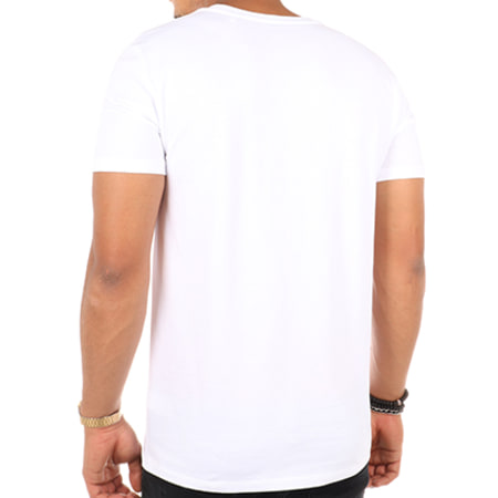 Thug N Swag - Tee Shirt Tortue Géniale Blanc