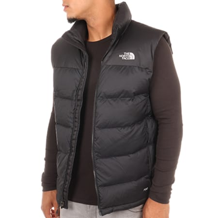 The North Face Doudoune Sans Manches Nuptse Noir