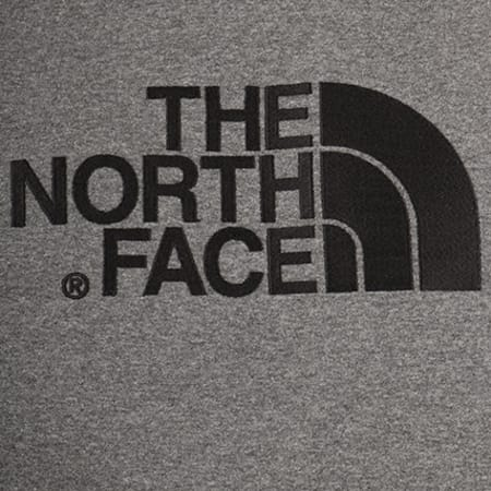 The North Face - Sweat Capuche Drew Peak Gris Anthracite Chiné