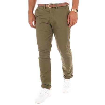 Jack And Jones - Pantalon Chino Cody Spencer Vert Kaki