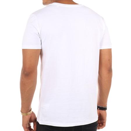 Luxury Lovers - Tee Shirt Flower Blanc