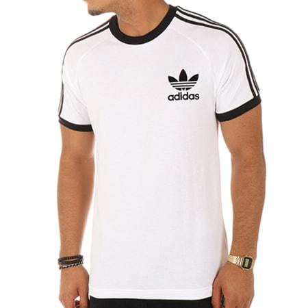 adidas Tee Shirt CLFN AZ8128 Blanc