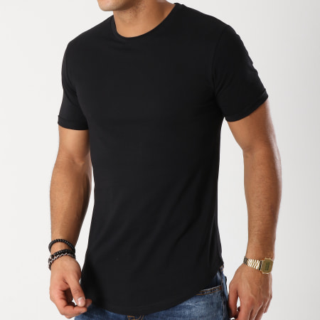 LBO - Lot de 2 Tee Shirts Oversize 98 Noir Et Blanc
