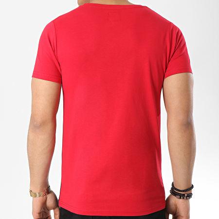 LBO - Tee Shirt Poche 118 Bleu Blanc Rouge