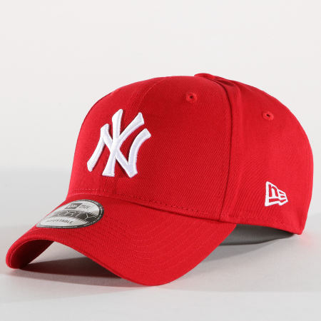 New Era - Casquette 9Forty League Basic New York Yankees Rouge Blanc