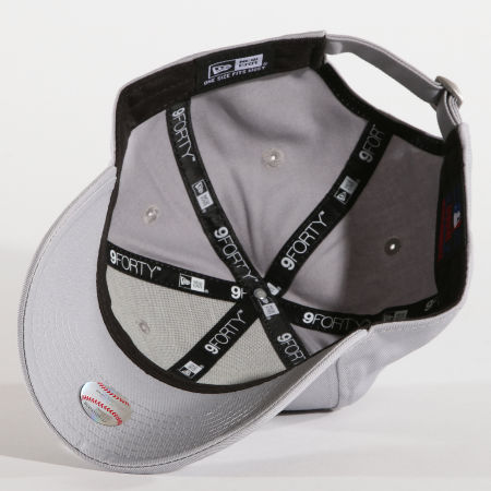 New Era - Casquette 9Forty League Basic New York Yankees Gris Blanc