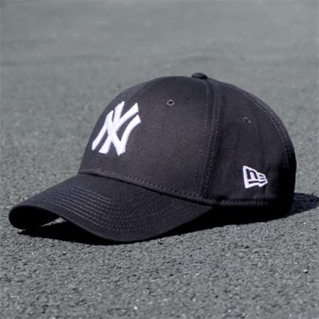 New Era - Casquette 940 League Basic 9 Forty New York Yankees Noir Blanc