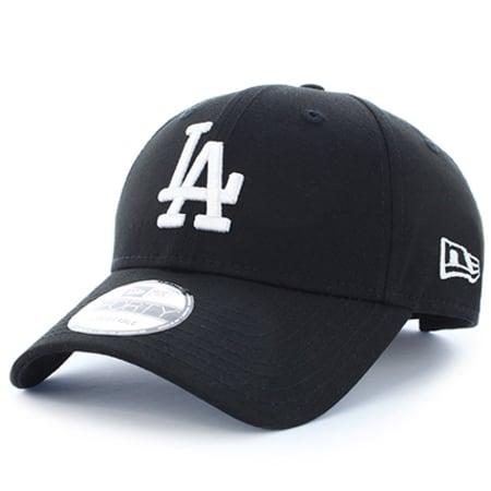 New Era - Casquette League Essential 9Forty Los Angeles Dodgers Noir Blanc