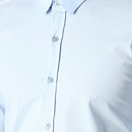 LBO - Chemise Manches Longues Slim Fit 294 Bleu Clair
