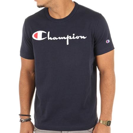 Champion - Tee Shirt 210972 Bleu Marine