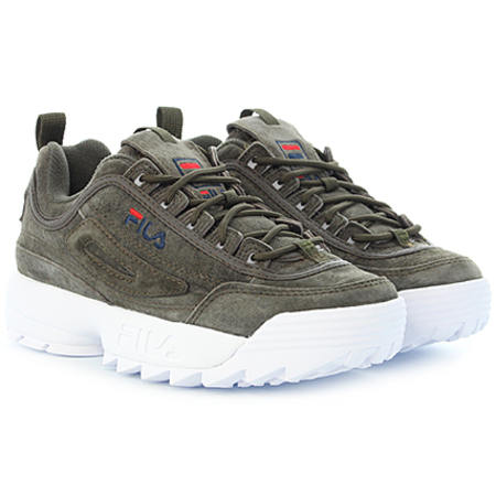 FILA Shoes Disruptor S Low Olive Night