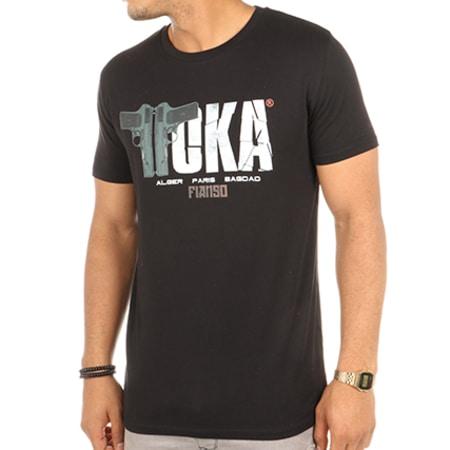 Sofiane - Tee Shirt Toka Noir