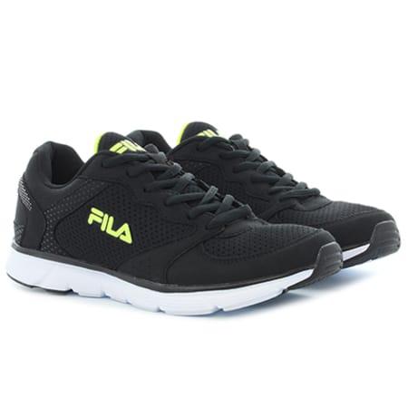 Fila Baskets Object Run Low 1010136 Black