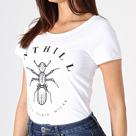 Anthill - Tee Shirt Femme Logo Blanc