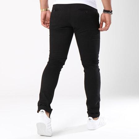 John H - Pantalon Chino 1001 Noir