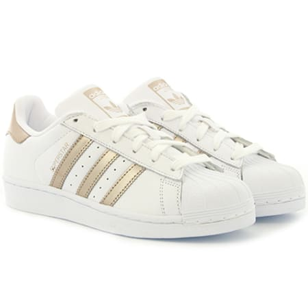 adidas Baskets Femme Superstar CG5463 Footwear White Cyber
