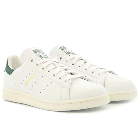adidas originals stan smith baskets basses footwear white collegiate green