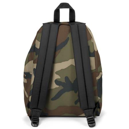 Eastpak - Sac A Dos Padded Pak'r Vert Kaki Camouflage