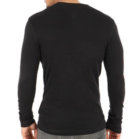 Tommy Hilfiger Jeans - Tee Shirt Manches Longues Original 4409 Noir