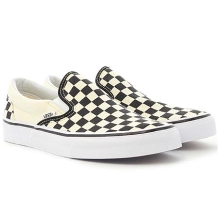 Vans - Baskets Classic Slip-On EYEBWW Black White Checker Board White