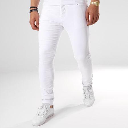 LBO - Jean Skinny LC-B-1 Blanc
