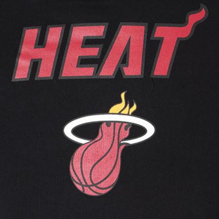 New Era - Sweat Capuche Team Logo NBA Miami Heat Noir
