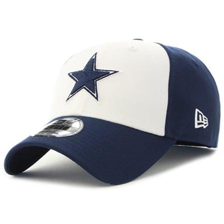 New Era - Casquette The League NFL Dallas Cowboys Blanc Bleu Marine
