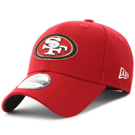 New Era - Casquette The League NFL San Francisco 49ers Rouge