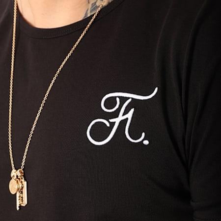 Final Club - Tee Shirt Premium Fit Avec Broderie 001 Noir