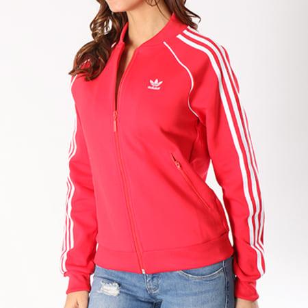 adidas Veste Zippée Femme SST CE2393 Rouge