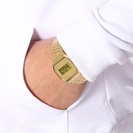 NASA - Sweat Capuche Worm Logo Blanc