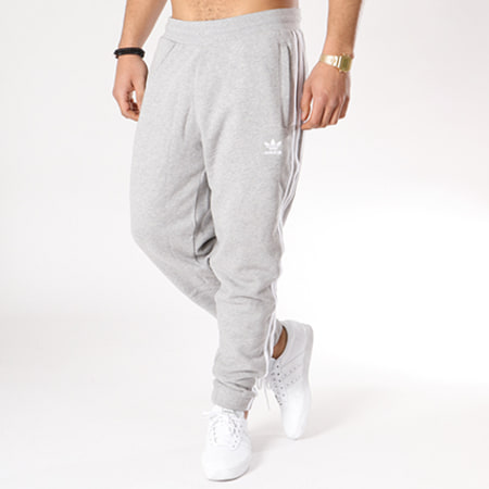 adidas Pantalon Jogging Bandes Brodées 3 Stripes CY4569