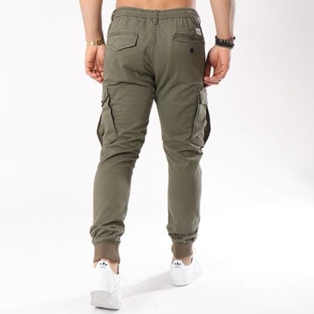 Reell Jeans - Jogger Pant Reflex Rib Cargo Vert Kaki