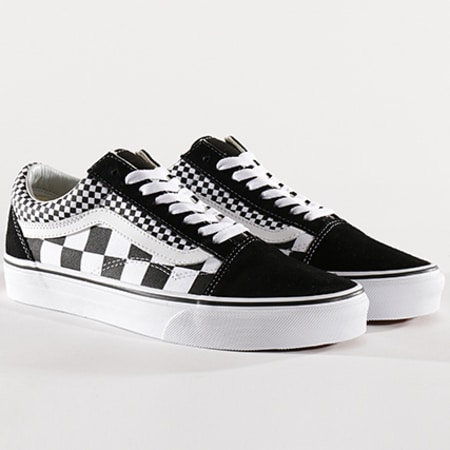 Vans Baskets Old Skool Mix Checker A38G1Q9B Black True