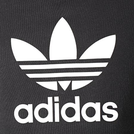 adidas - Sweat Crewneck Trefoil CW1235 Noir Blanc