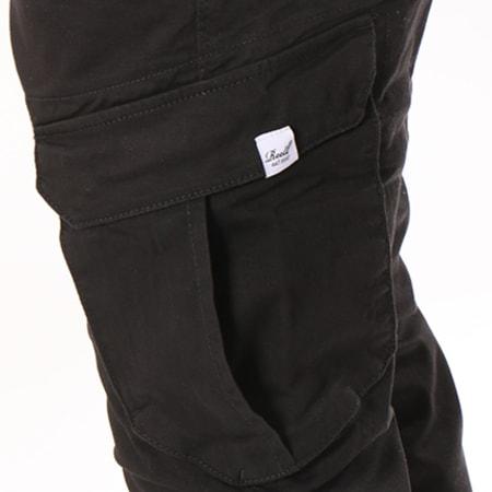 Reell Jeans - Jogger Pant Reflex Rib Cargo Noir