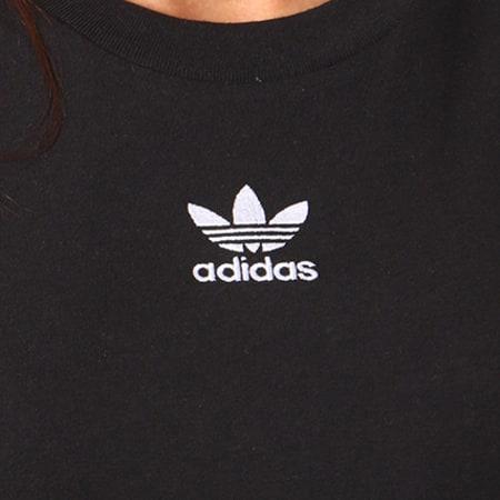 adidas - Débardeur Crop Femme CY4745 Noir