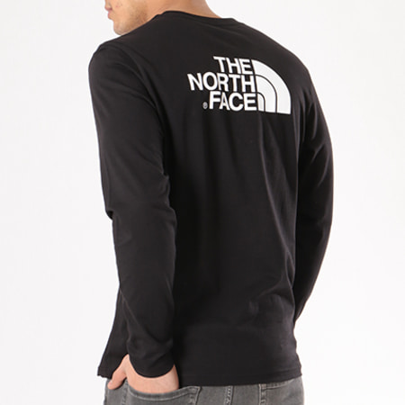 The North Face - Tee Shirt Manches Longues Easy Noir