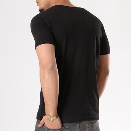 Sofiane - Tee Shirt Poto Poings Noir