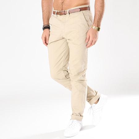 Jack And Jones - Pantalon Chino Spencer Cody Beige