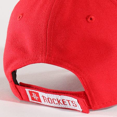 New Era - Casquette The League NBA Houston Rockets Rouge