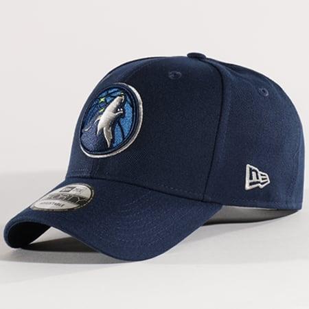 New Era - Casquette The League NBA Minnesota Timberwolves Bleu Marine