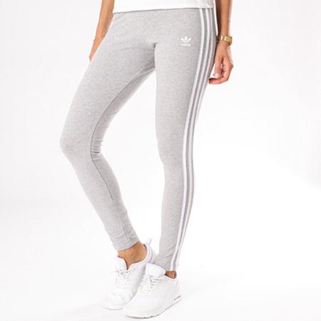 legging adidas gris femme