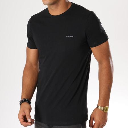 Diesel - Lot De 3 Tee Shirts Jake 00SPDG-0AALW Noir