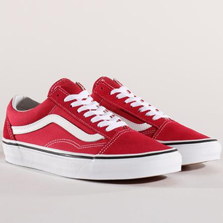 Vans Baskets Old Skool A38G1Q9U Crimson True White